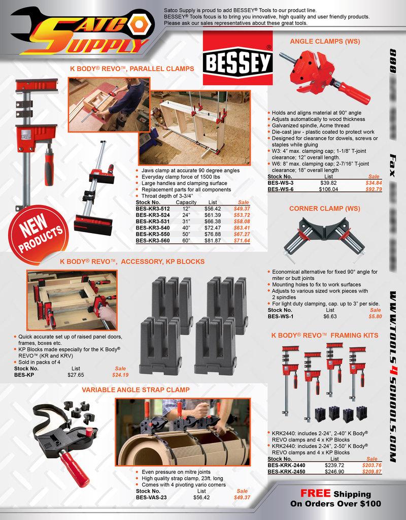 Bessey Tools flier