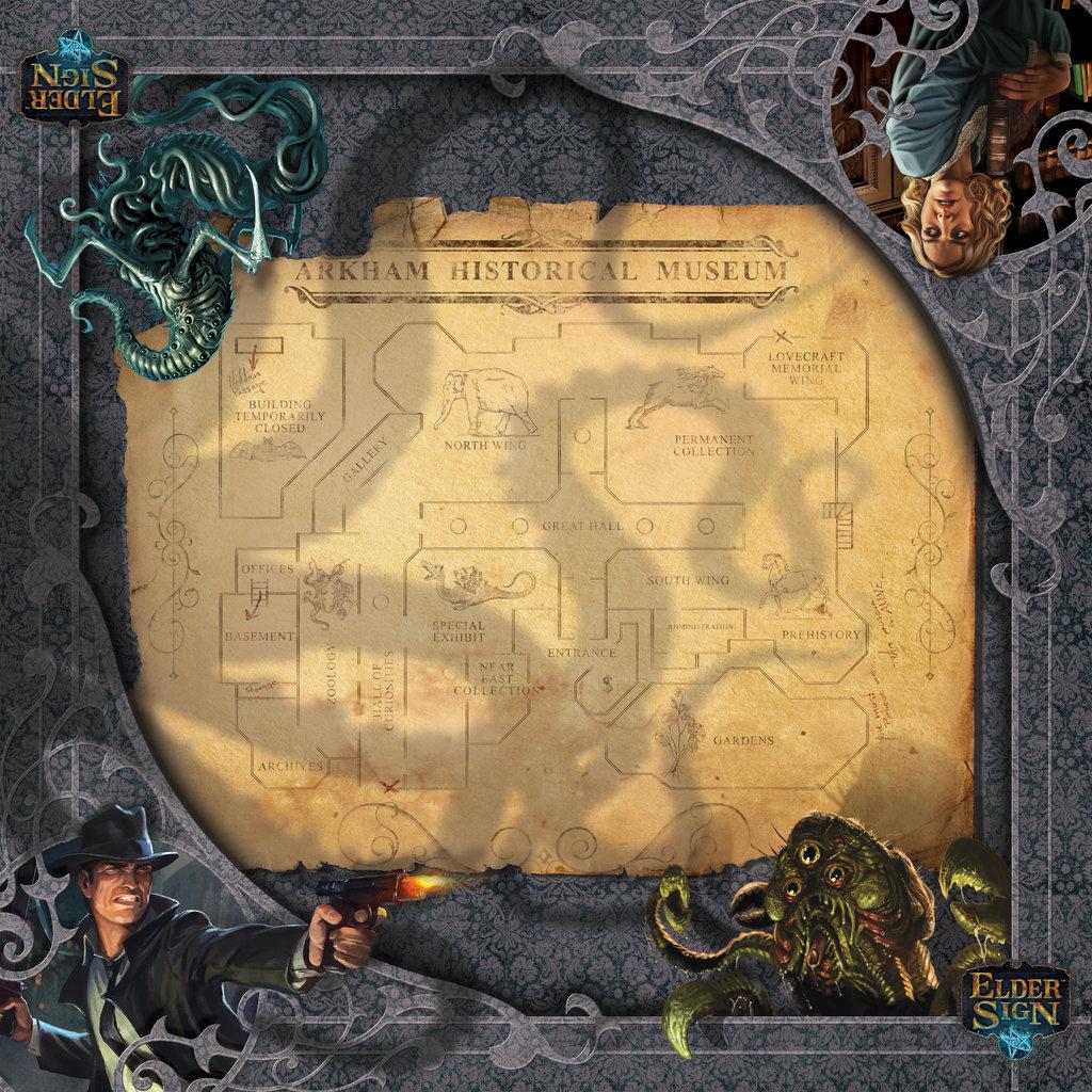 Arkham Horror: Elder Sign gamemat