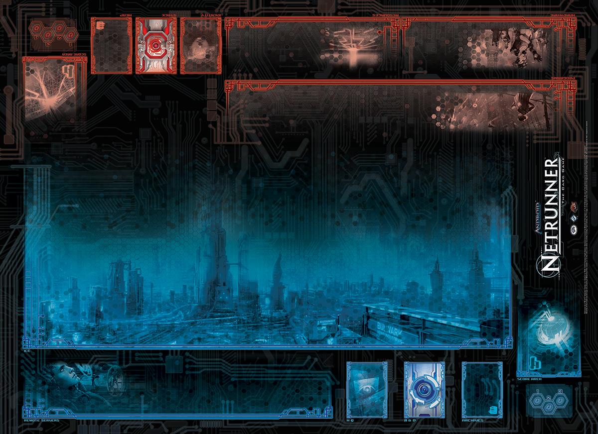 Android: Netrunner gamemat